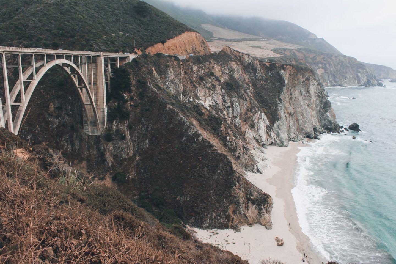 Travel wish list: Bixby Bridge by Big Sur, California