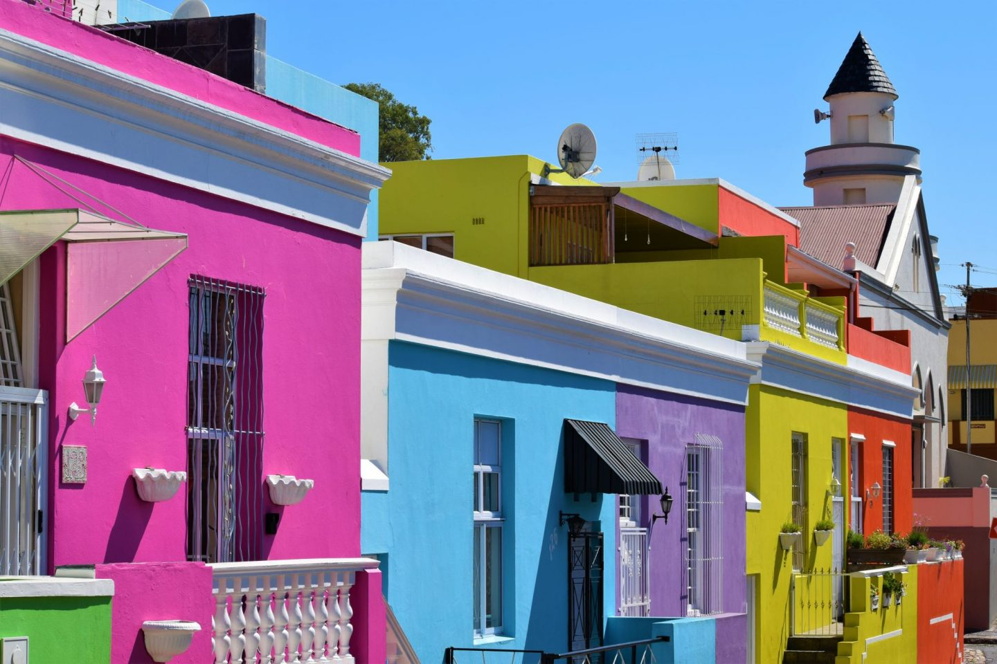 Bo-Kaap, South Africa is one of the world's most colourful cities