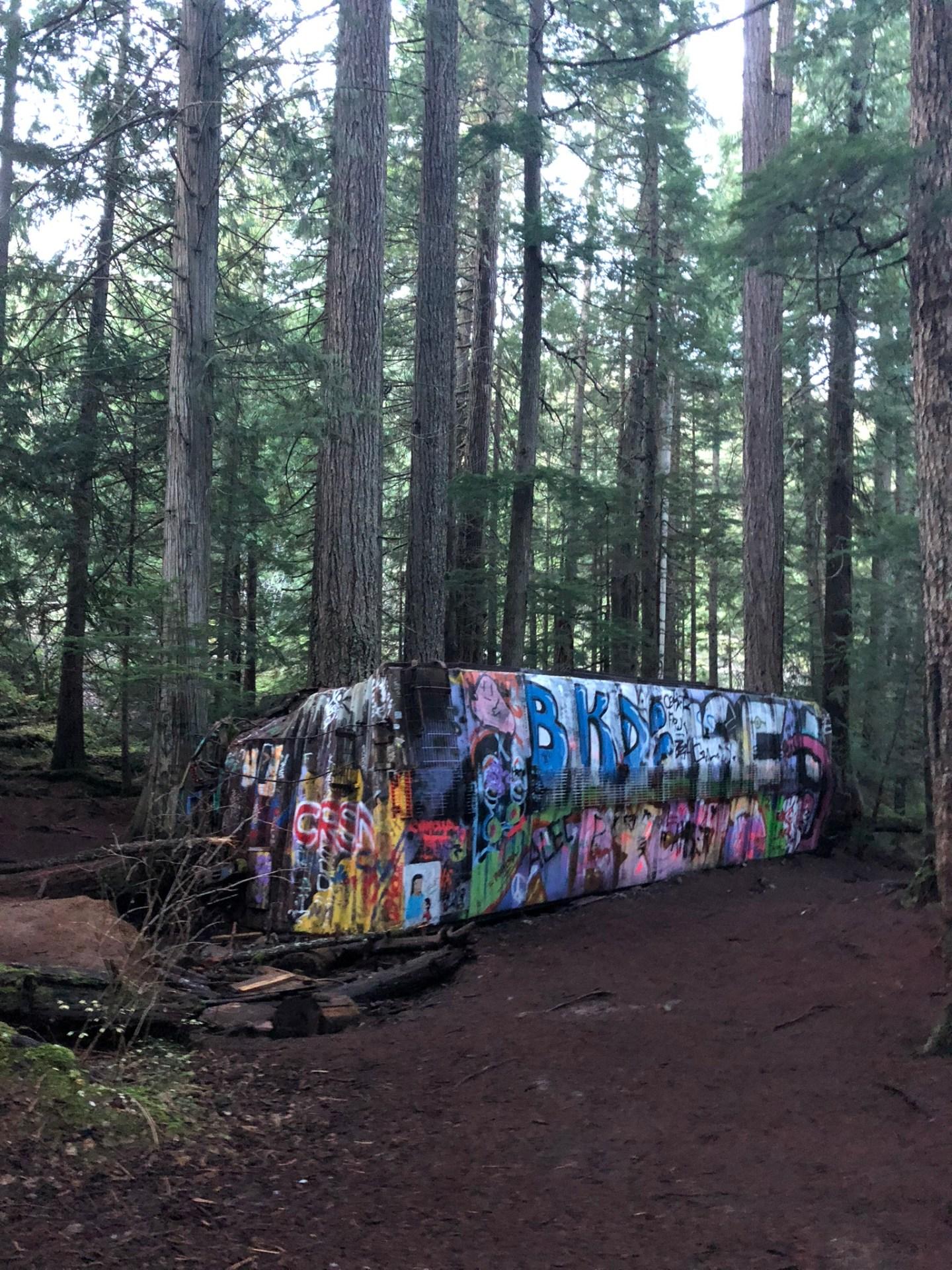 Train Wreck, Whistler