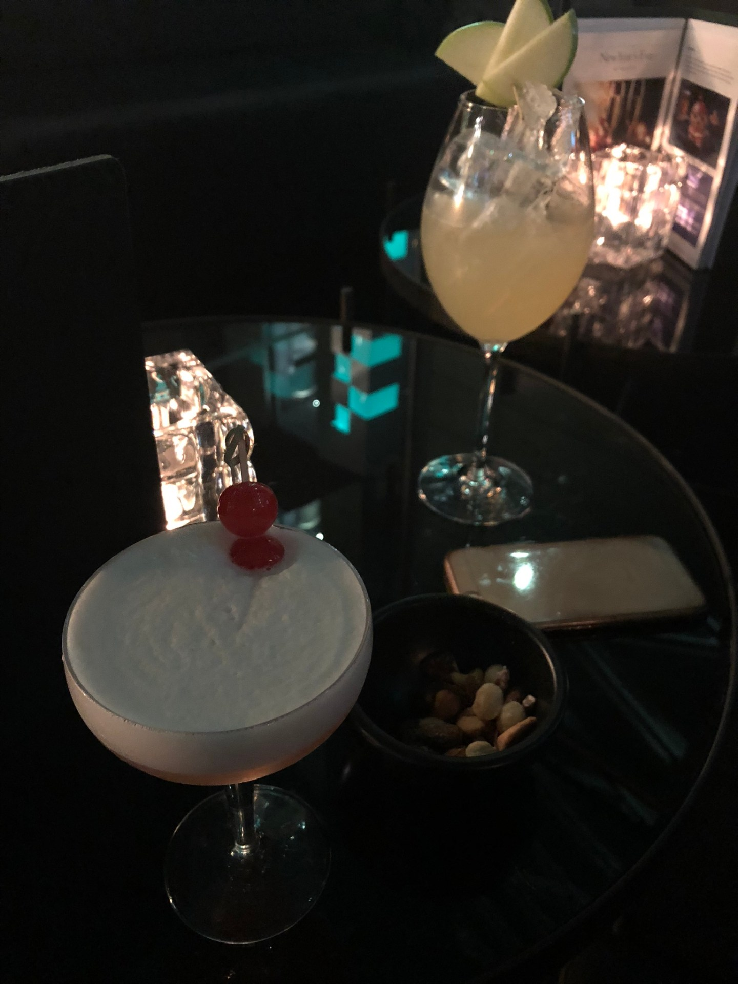 Cocktails at Gaucho, London