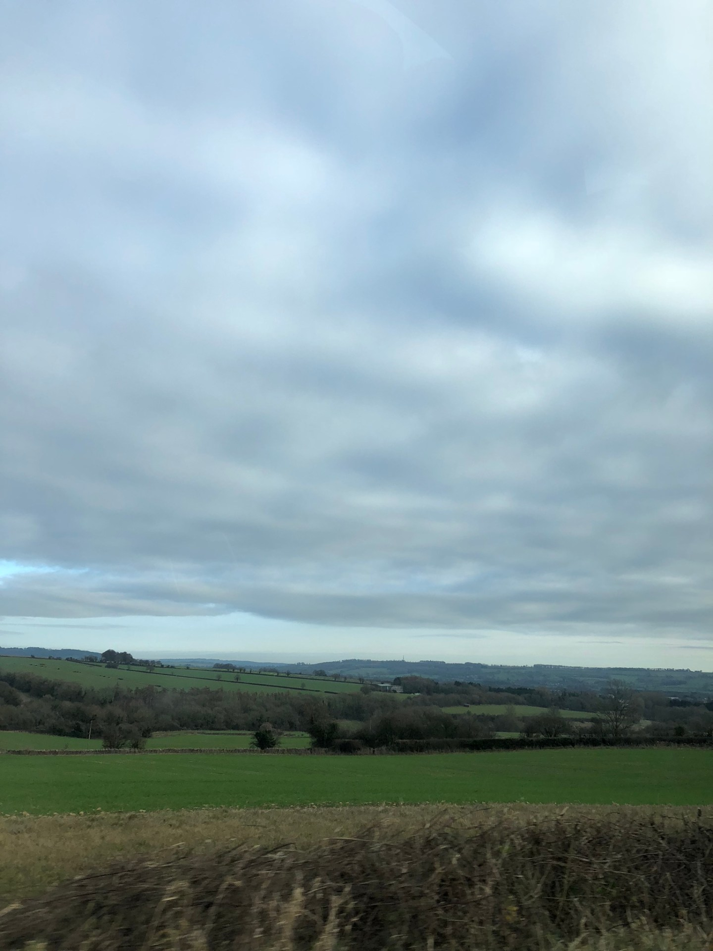 Views over the Cotswolds