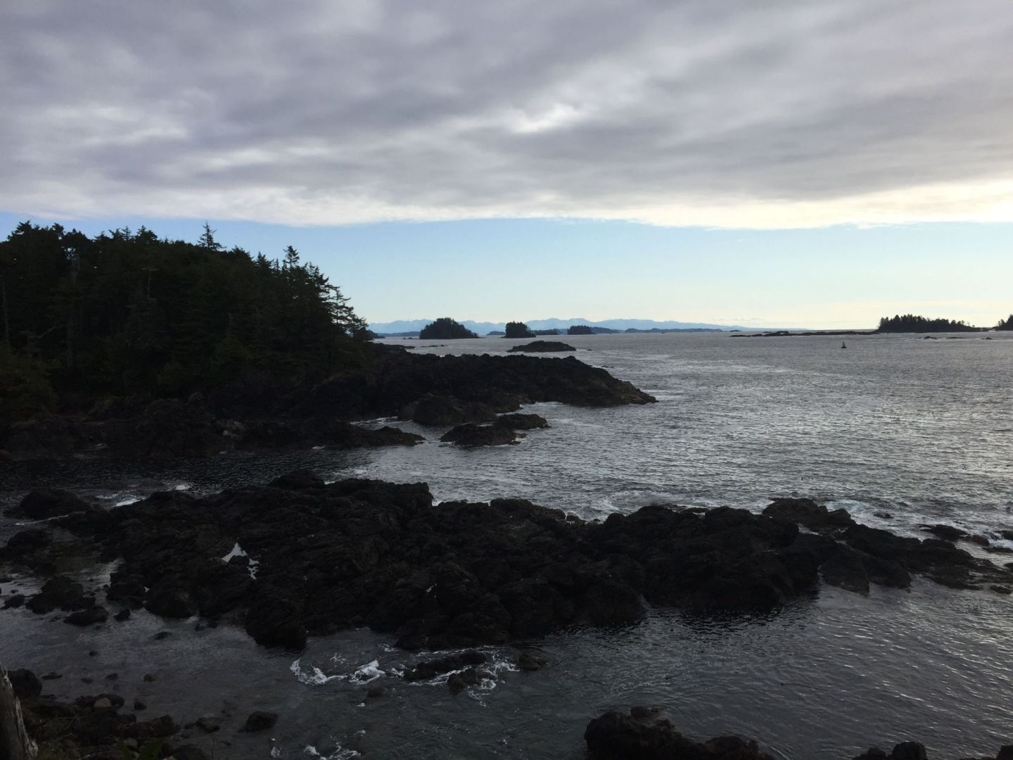 Storm watching in Ucluelet