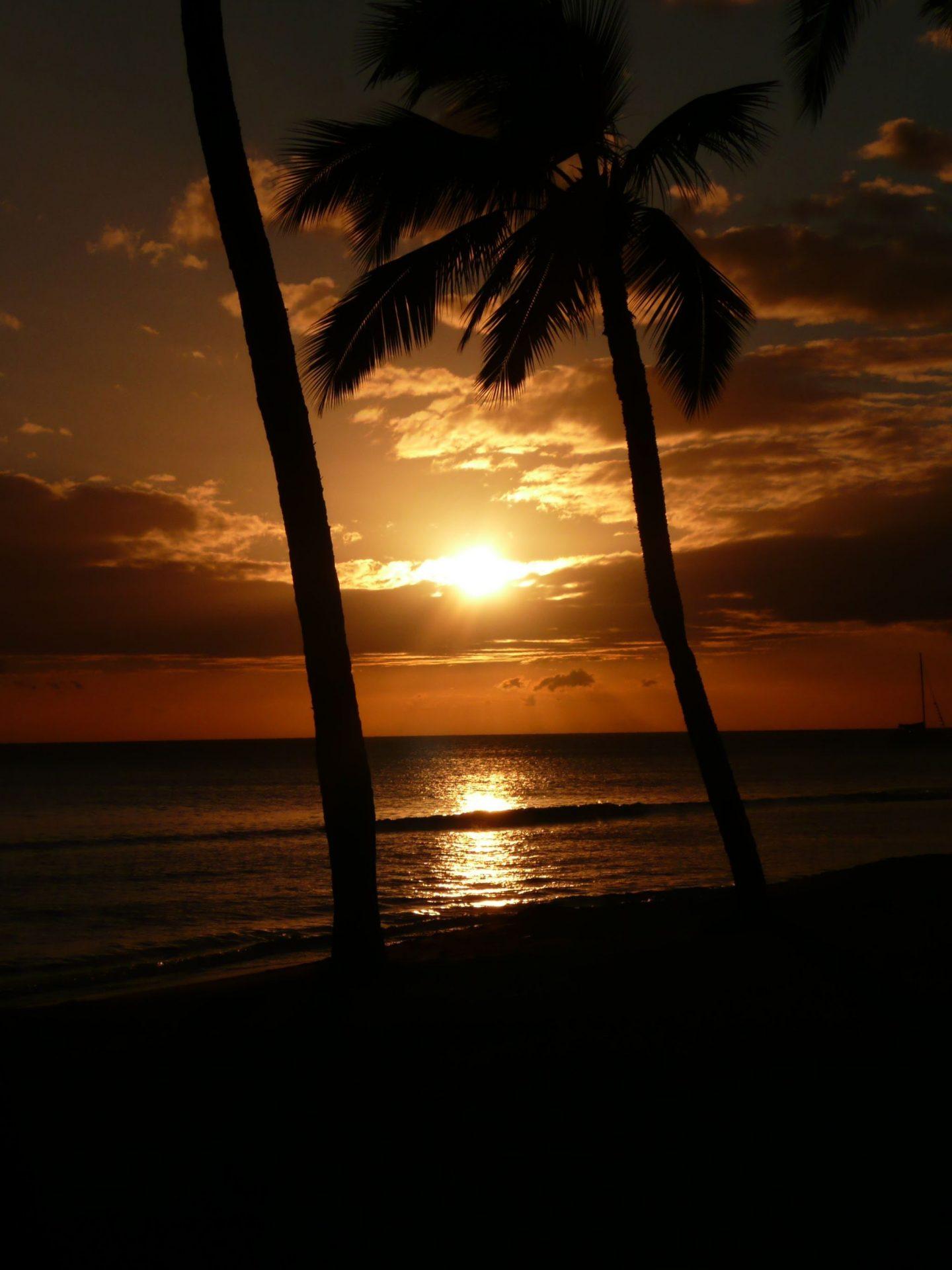 Sunset on Maui, Hawaii