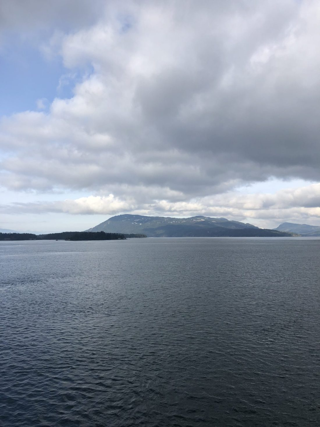 Views on the ferry from Vancouver to Victoria