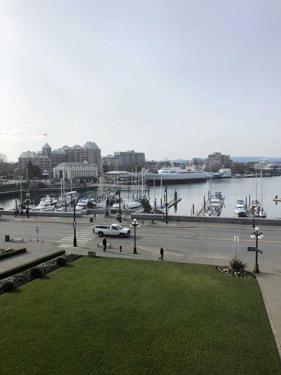The harbour of Victoria, British Columbia