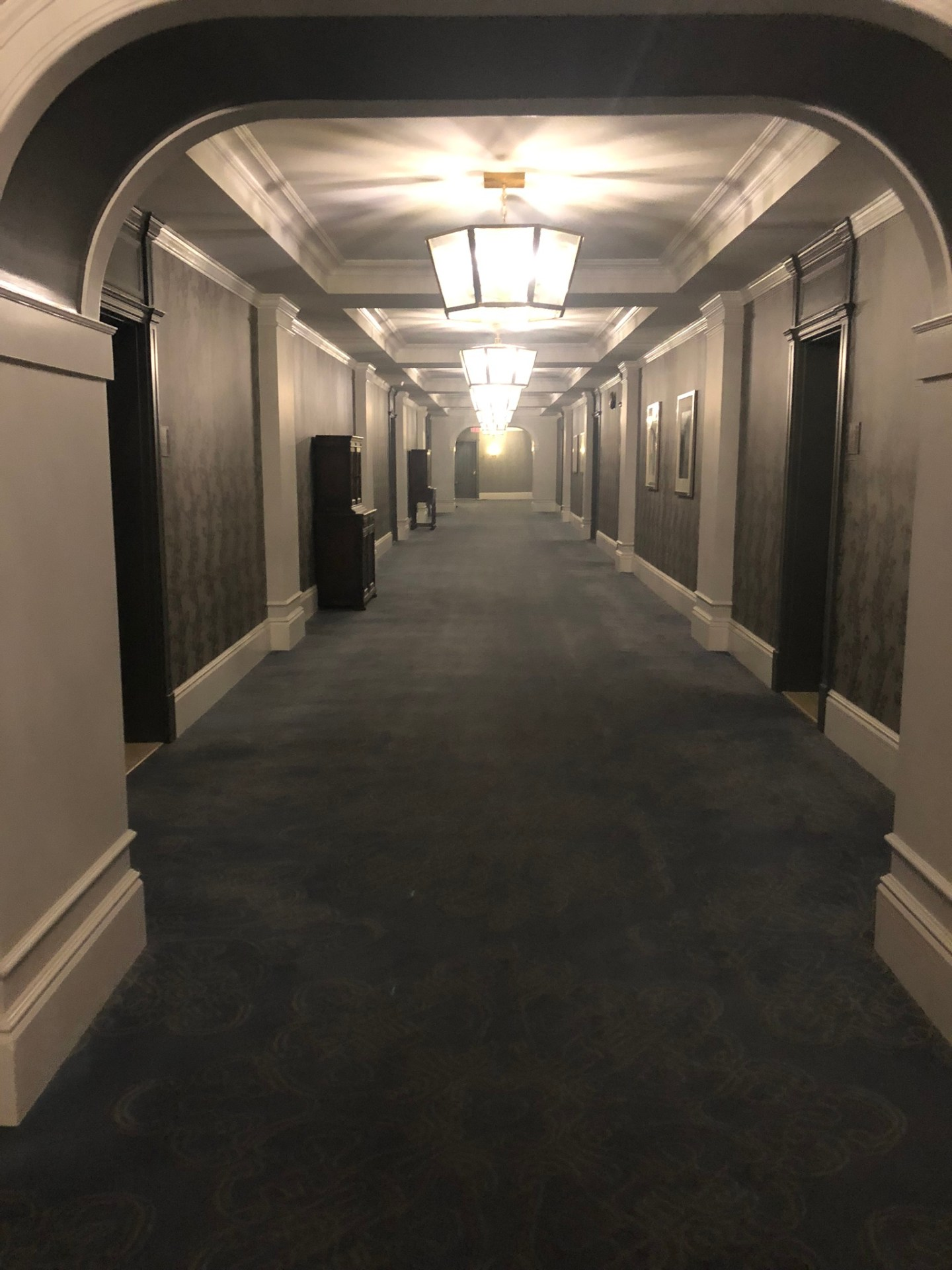 Corridor at the Fairmont Empress, Victoria