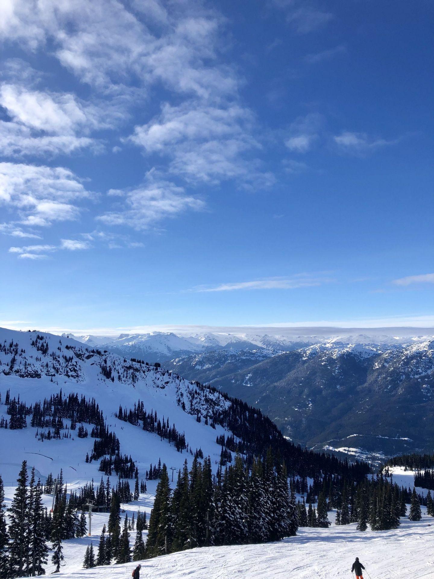 View across Whistler, British Columbia
