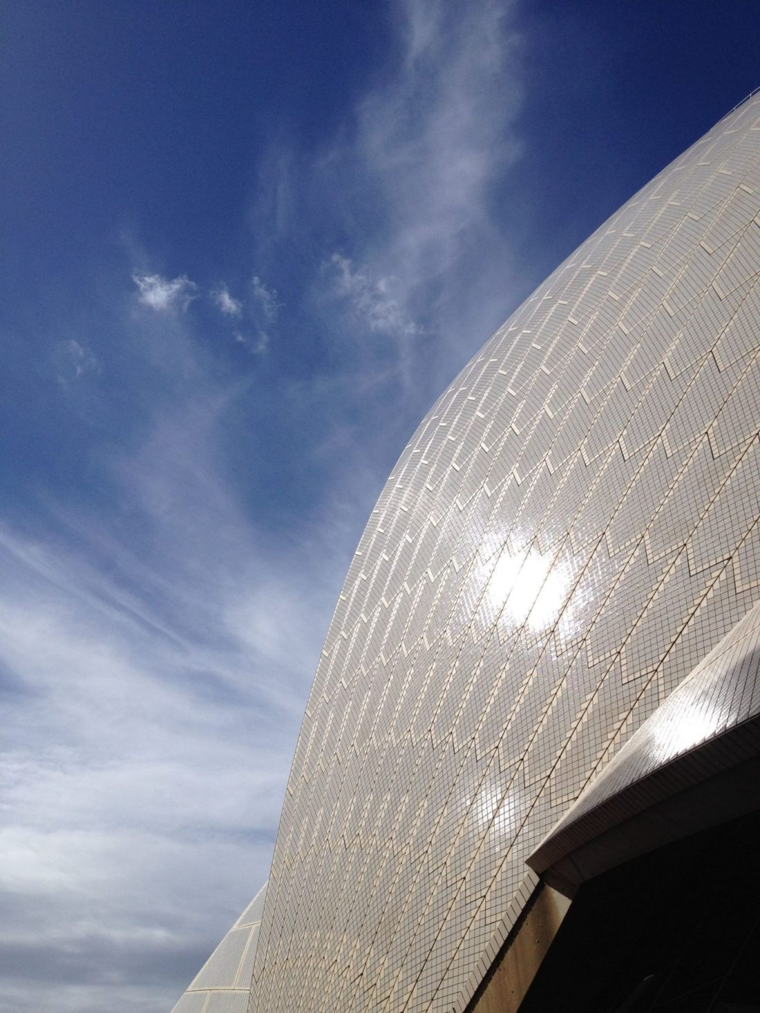 Outside Sydney Opera House