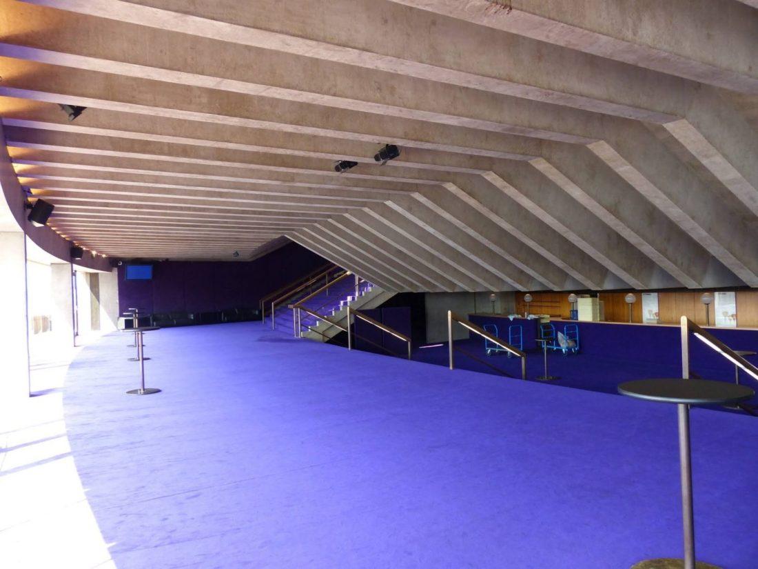 Purple carpet of Sydney Opera House