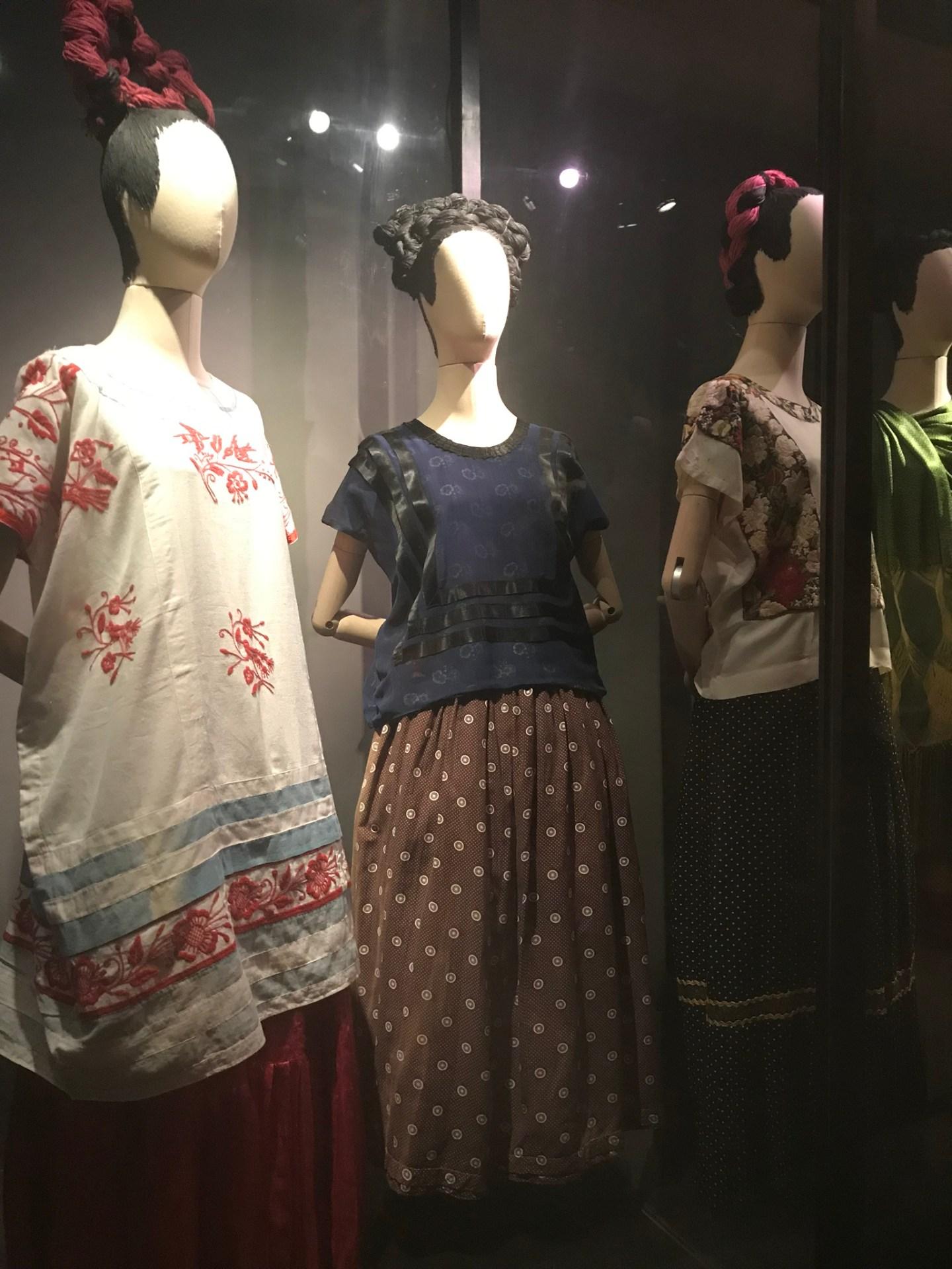 Frida Kahlo's outfits, Casa Azul