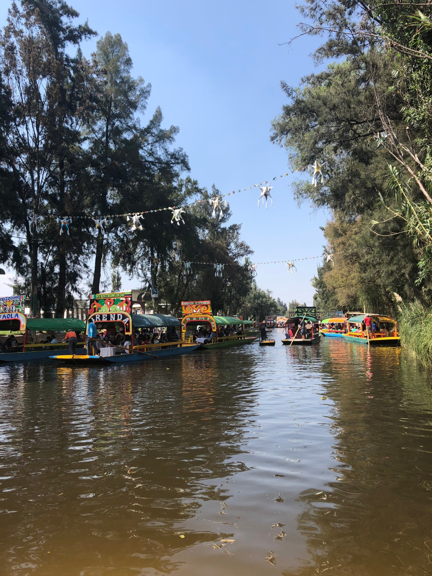 The canals of Xochimilco