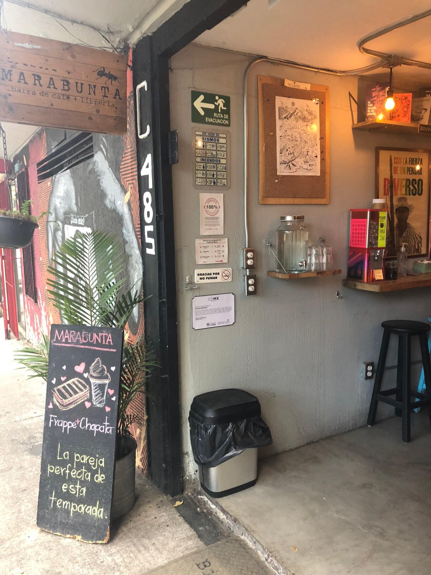 Marabunta Cafe, Mexico City