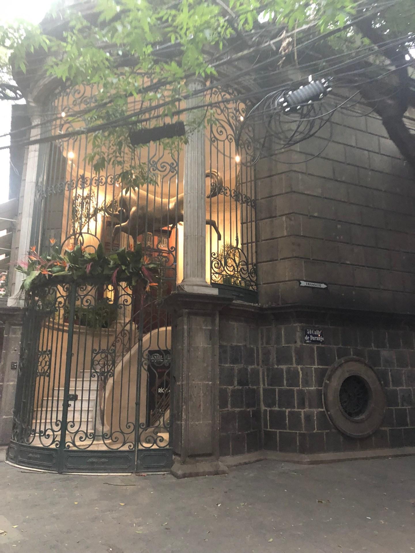 The streets of Roma, Mexico City