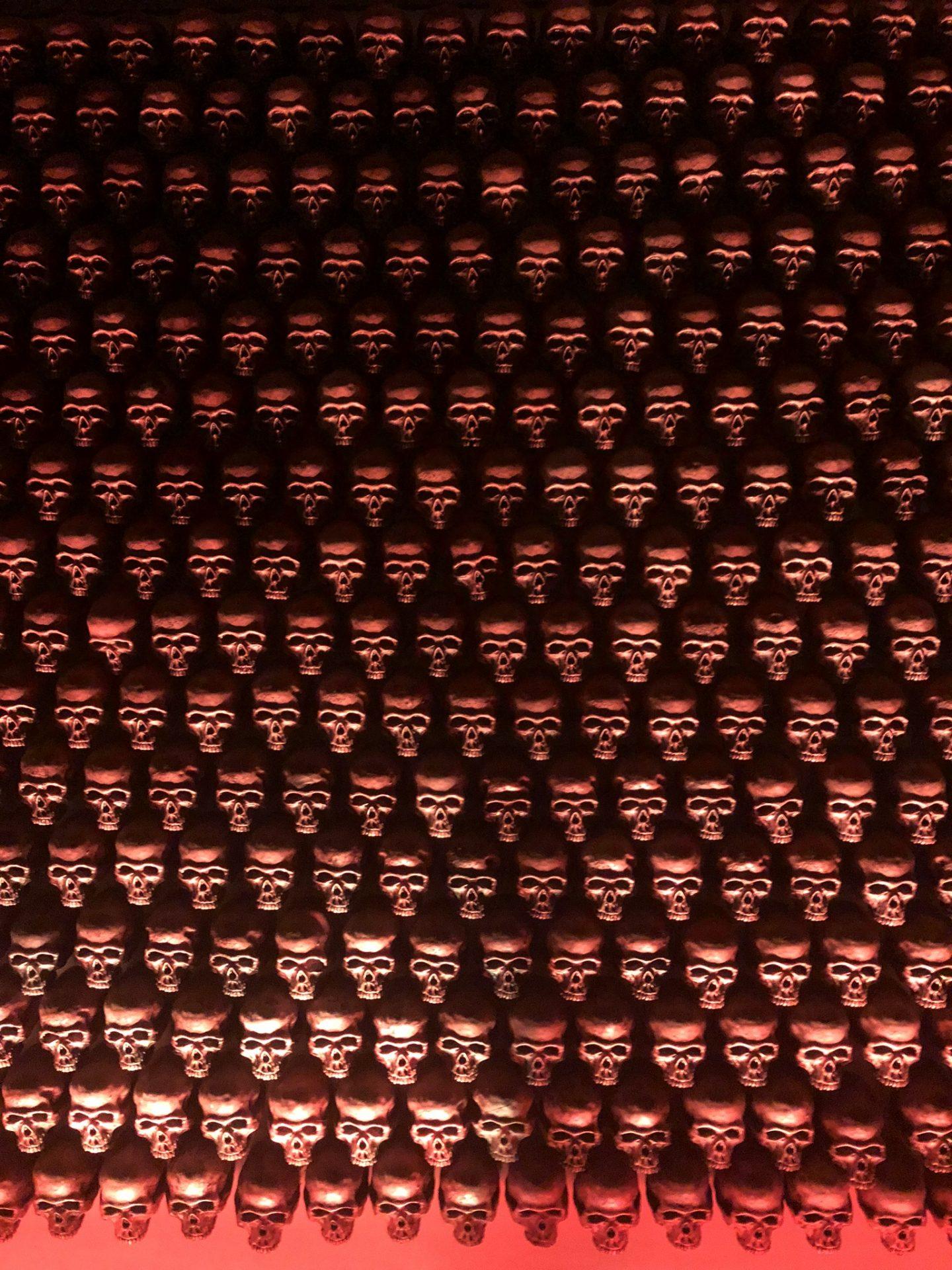 Skulls at GinGin, Roma