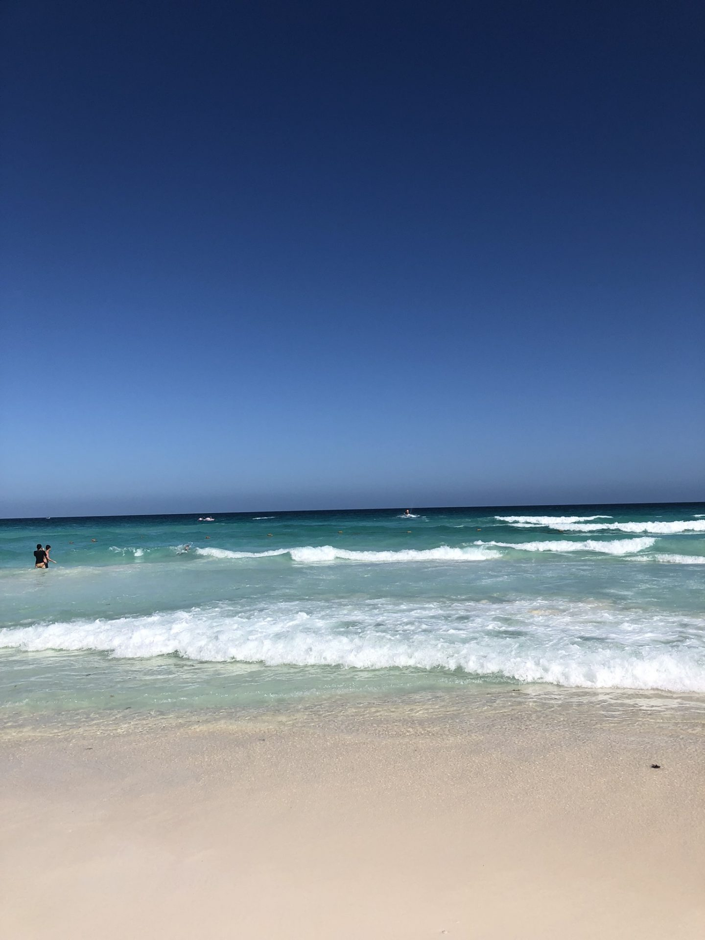 Caribbean Sea in Cancún, Mexico