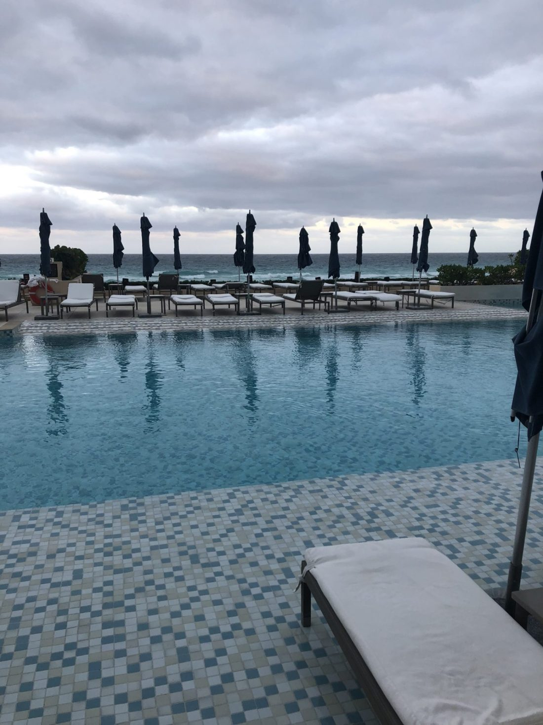 Pool at Secrets The Vine, Cancún