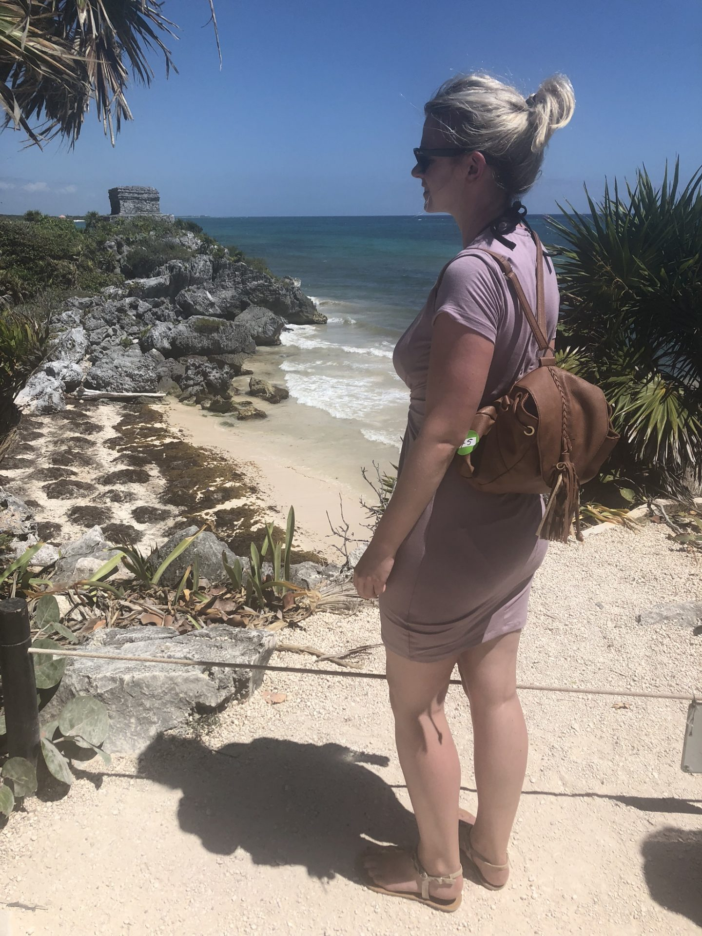 Laura at Tulum, Riviera Maya