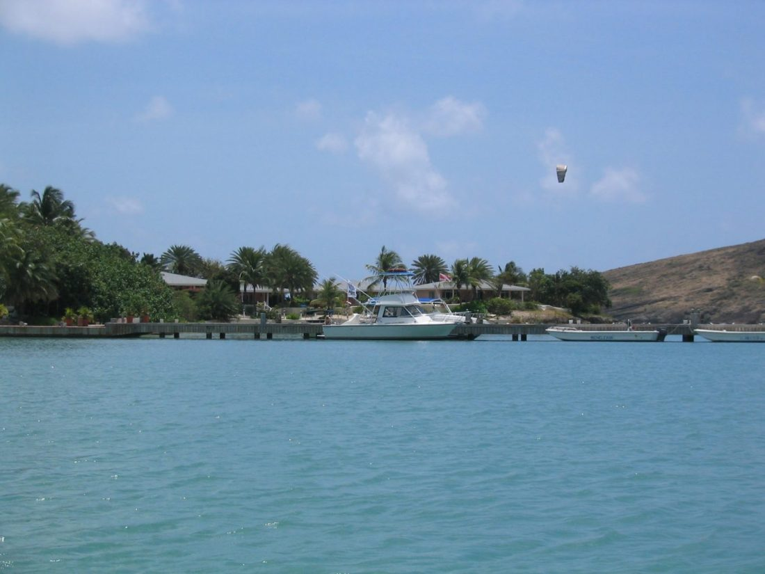Views from Mamora Bay Beach, Antigua