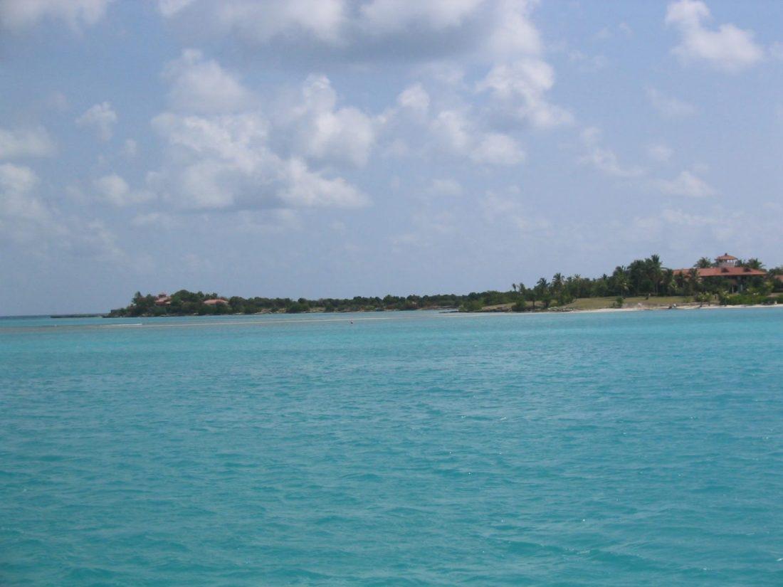Views across the Caribbean Sea, Antigua