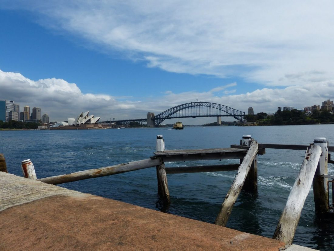Views to Sydney Harbour Bridge