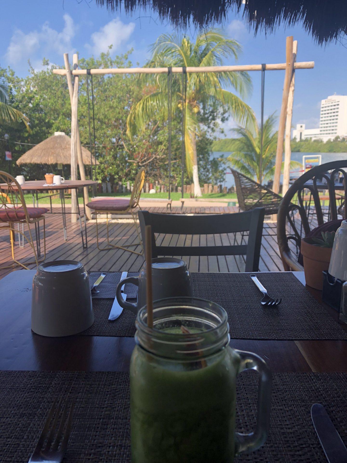 Breakfast at Selina, Cancun