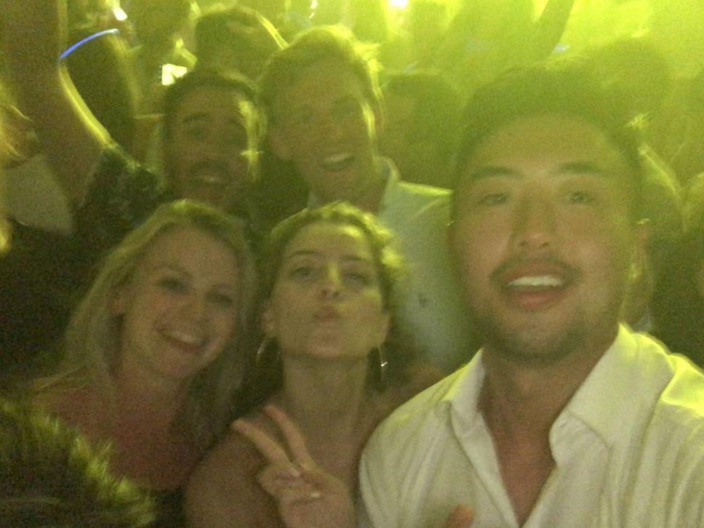 Group at Story Nightclub, Miami, Florida