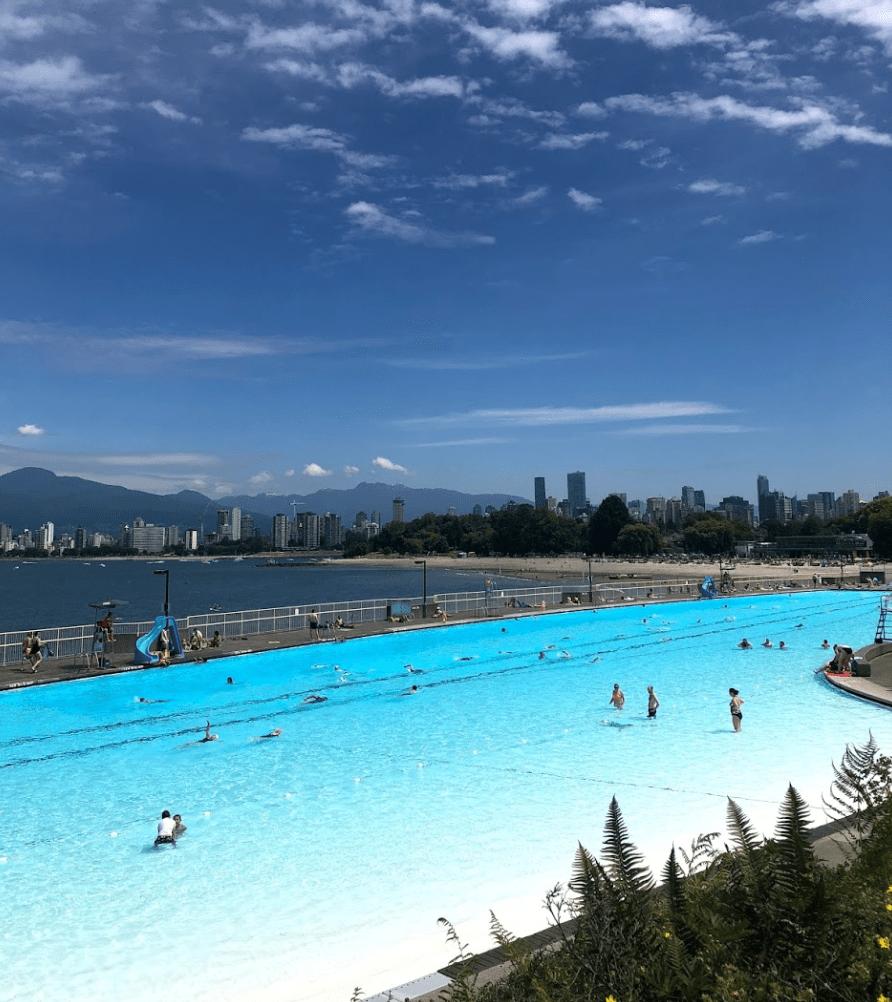 World's best swimming pools: Kitsilano Pool, Vancouver