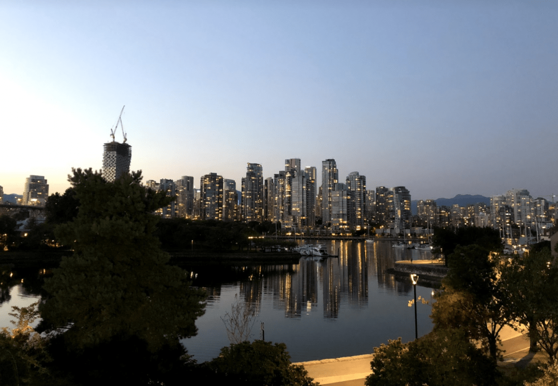 Living in Vancouver: a view of the city