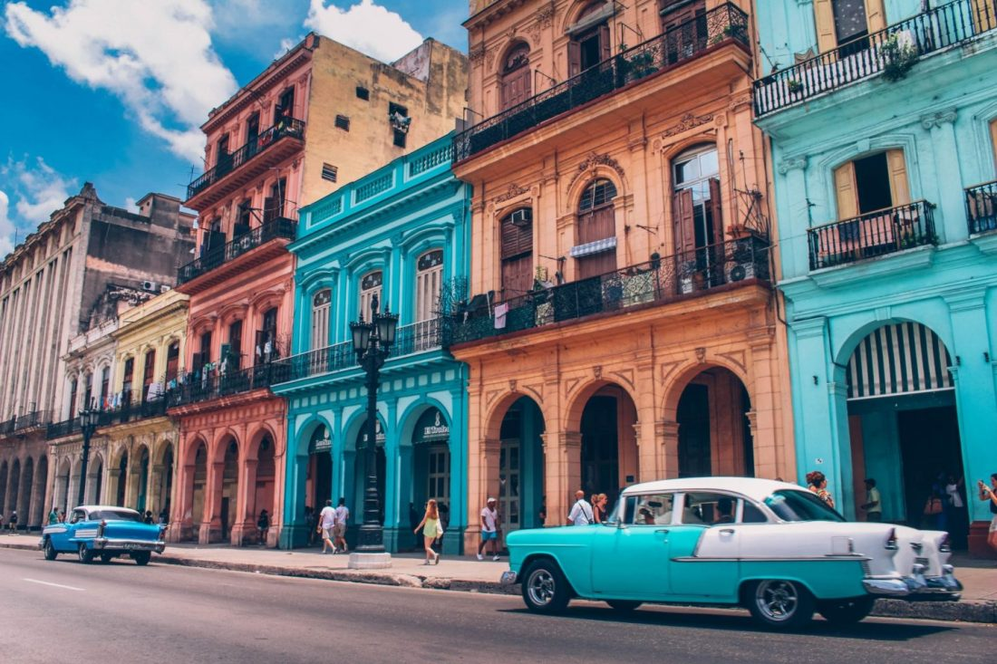 Havana, Cuba is one of the world's most colourful cities
