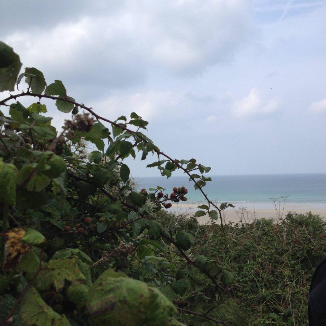 Views across Porthkidney Beach, Cornwall