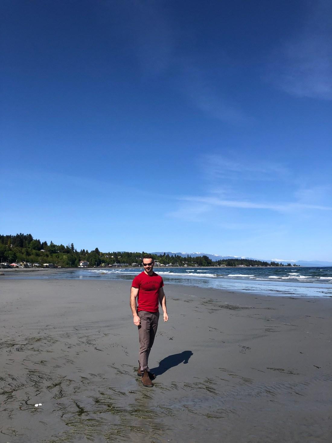 On Qualicum Beach, Vancouver