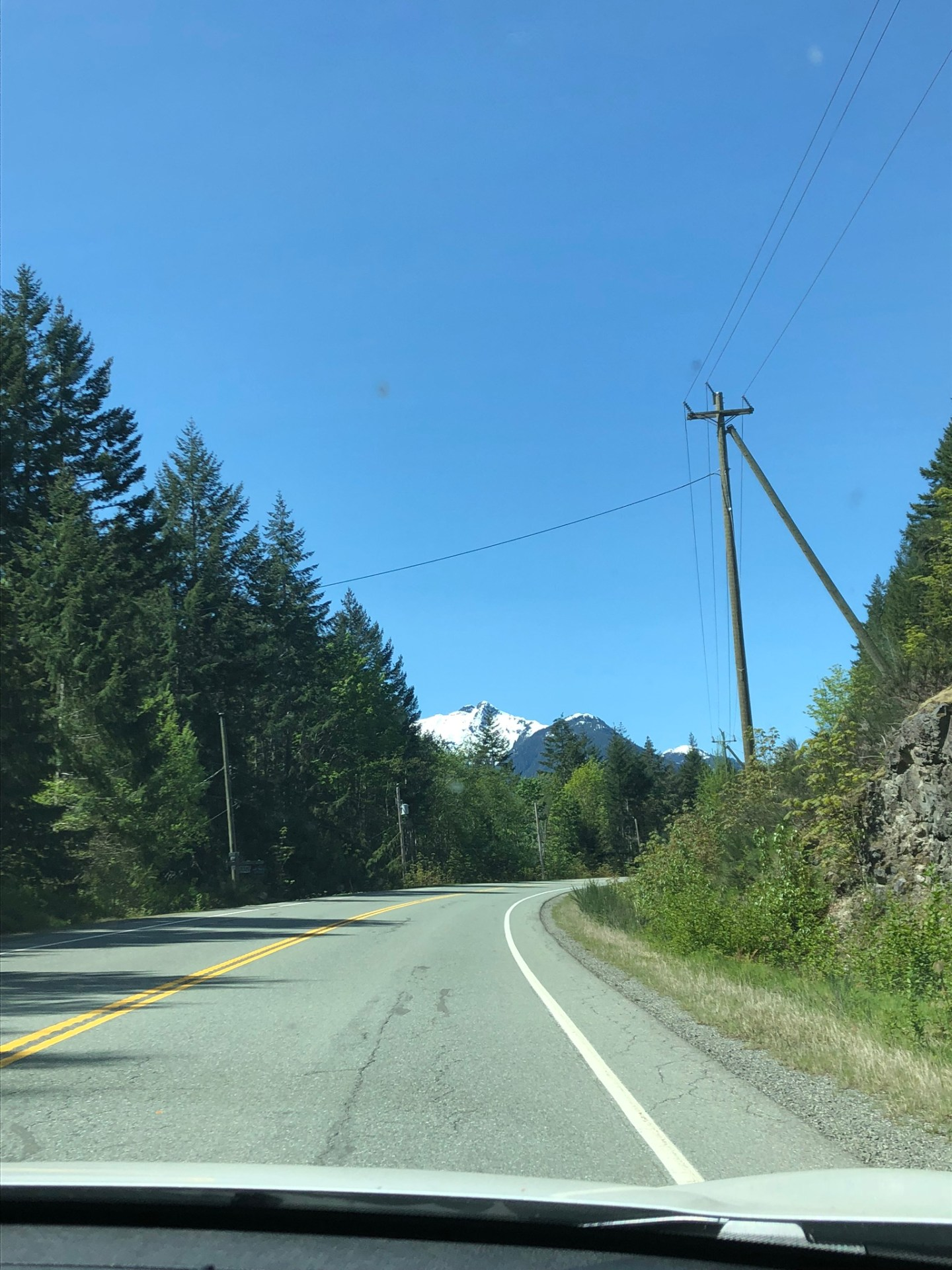 Driving to Tofino, Vancouver Island