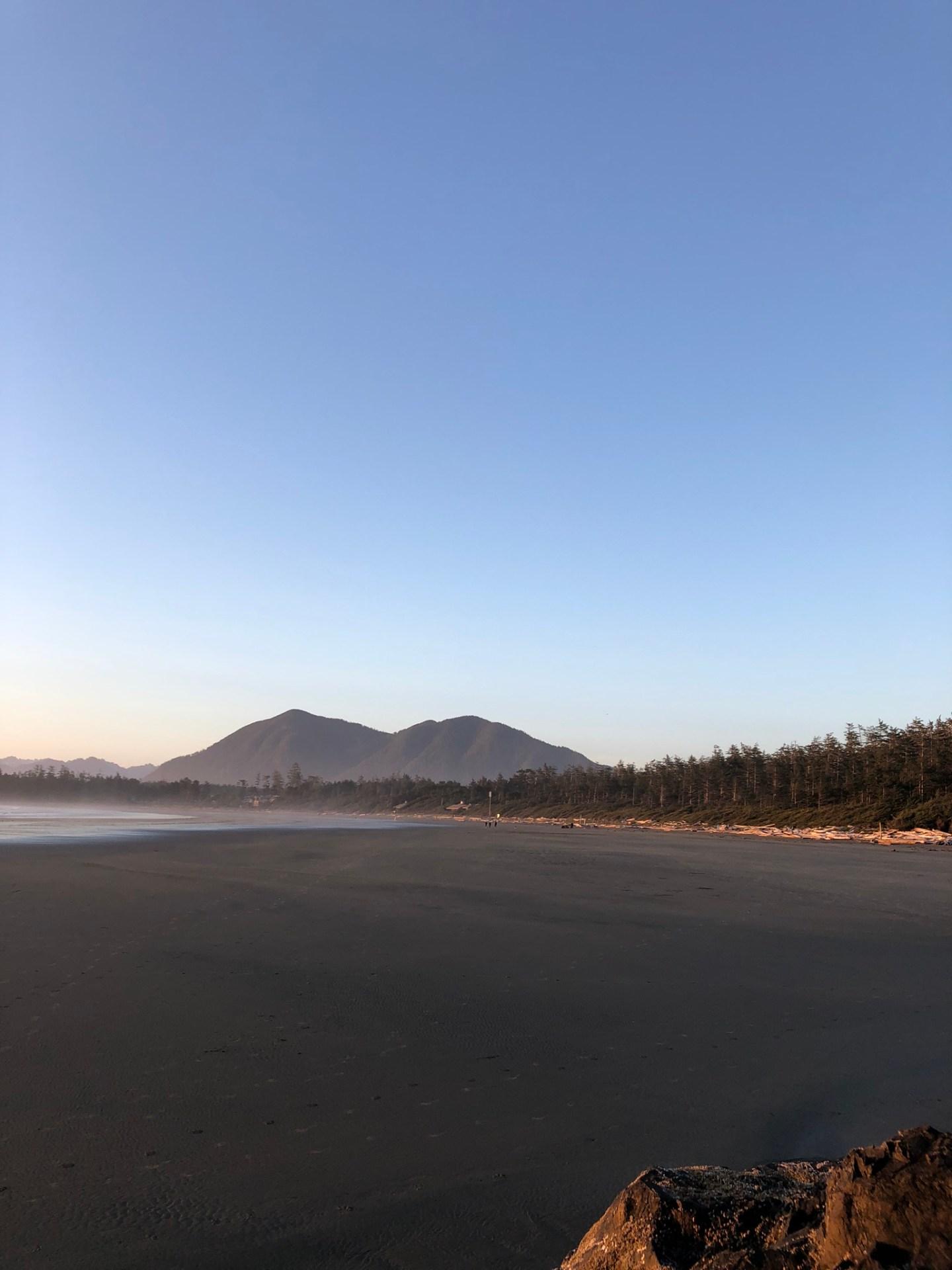 Sunset in Tofino, British Columbia