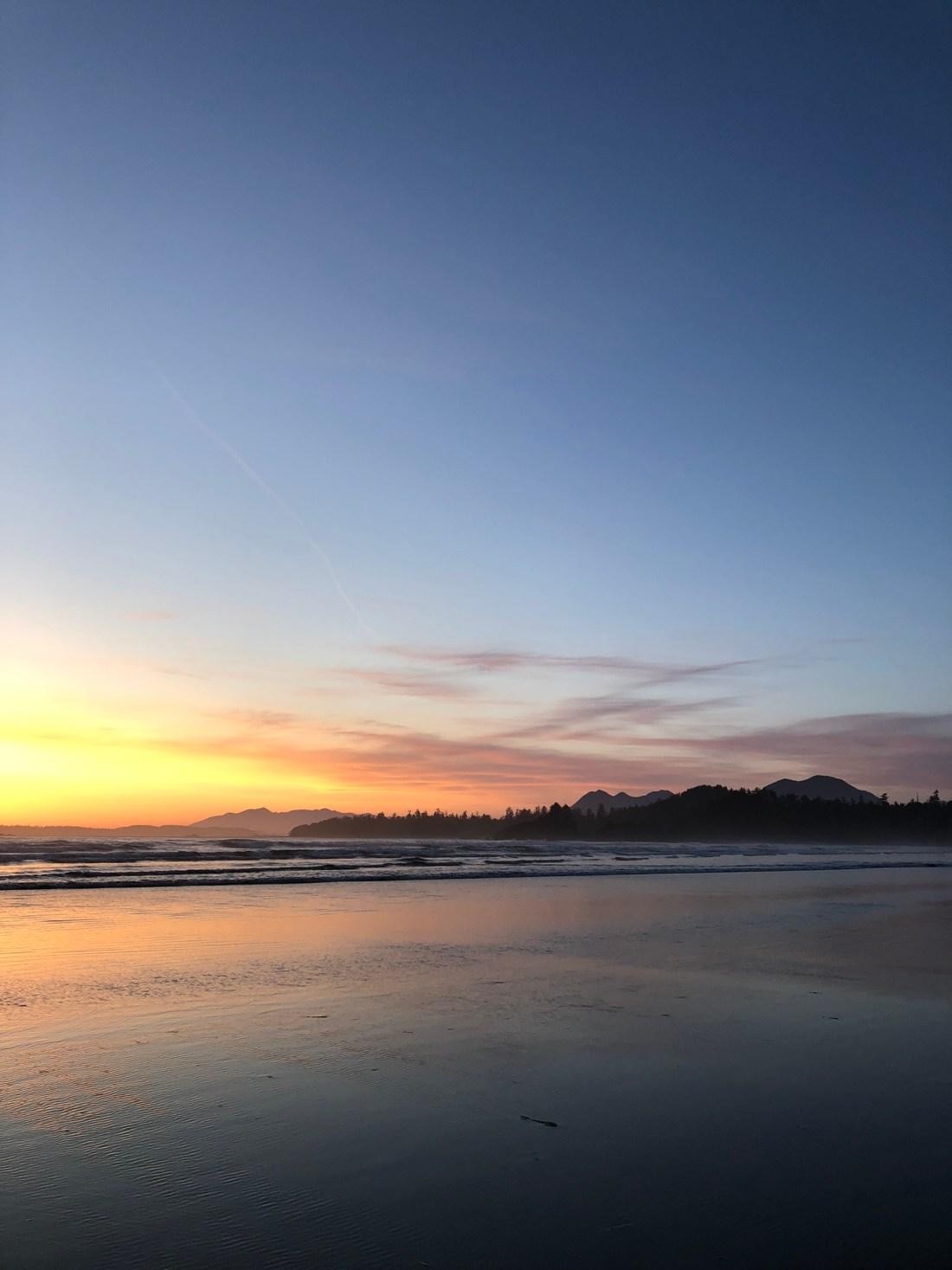 Tofino sunsets, Vancouver Island