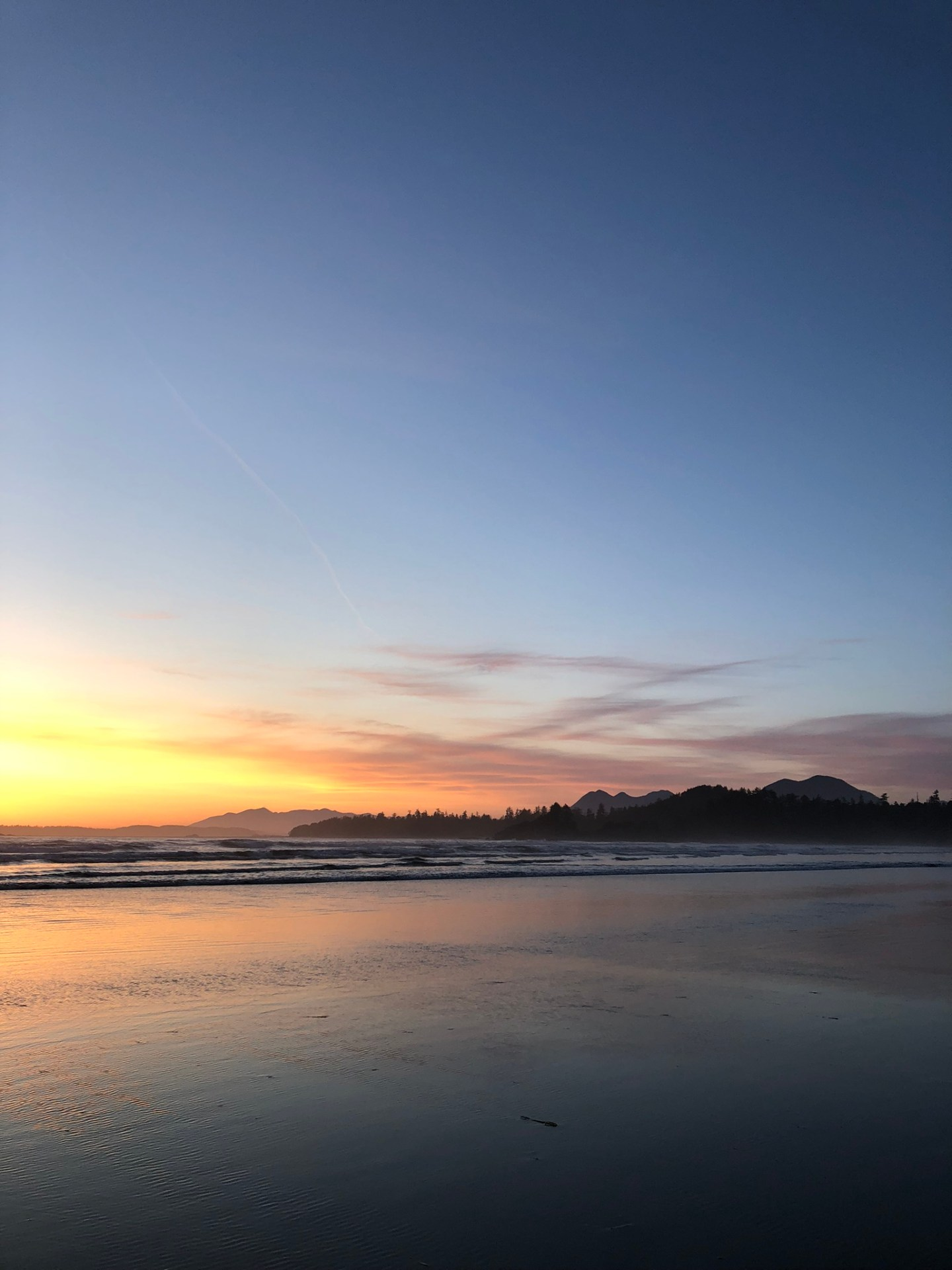 Tofino sunsets, Vancouver Island
