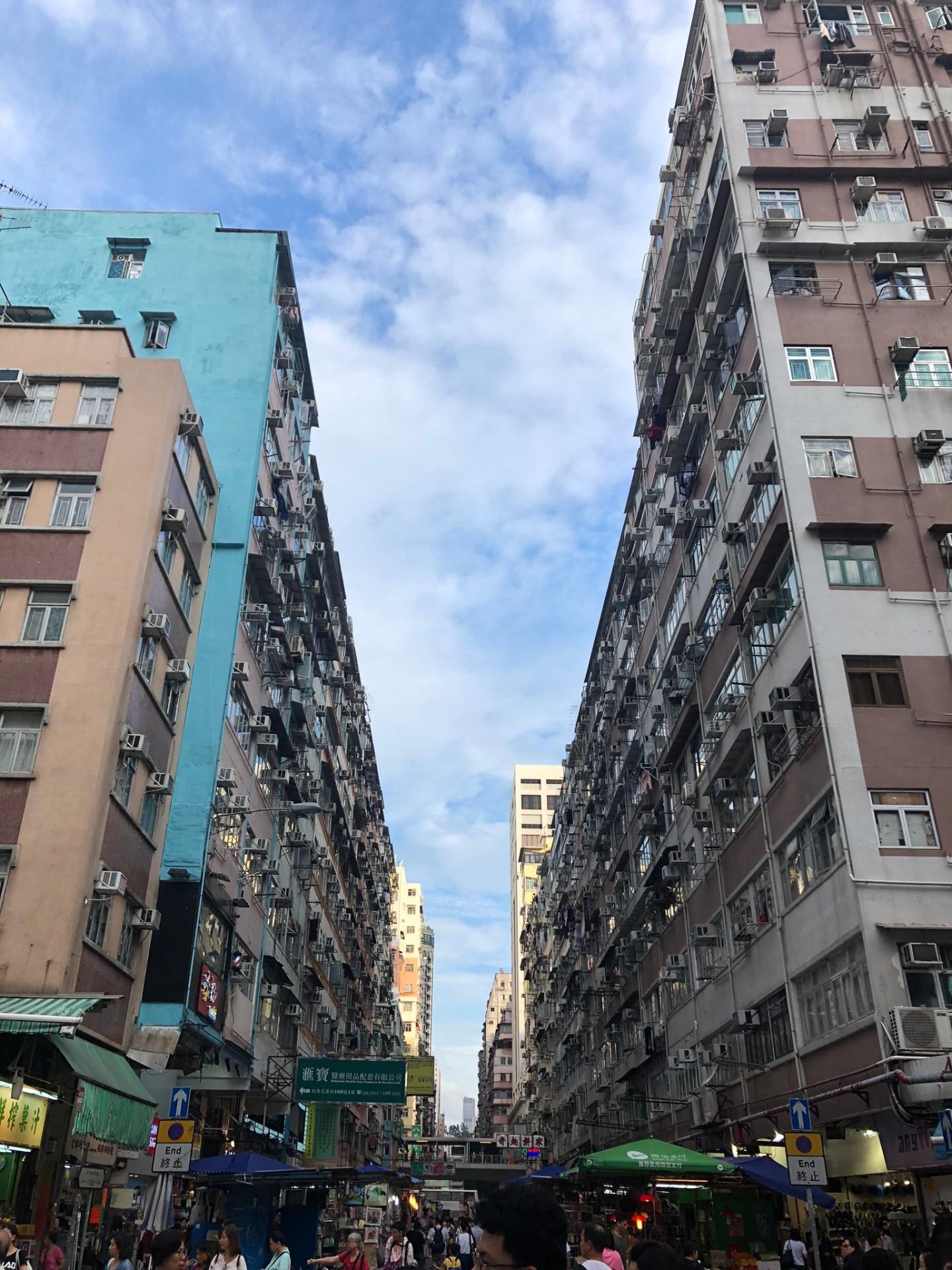 Streets of Mong Kok, Hong Kong