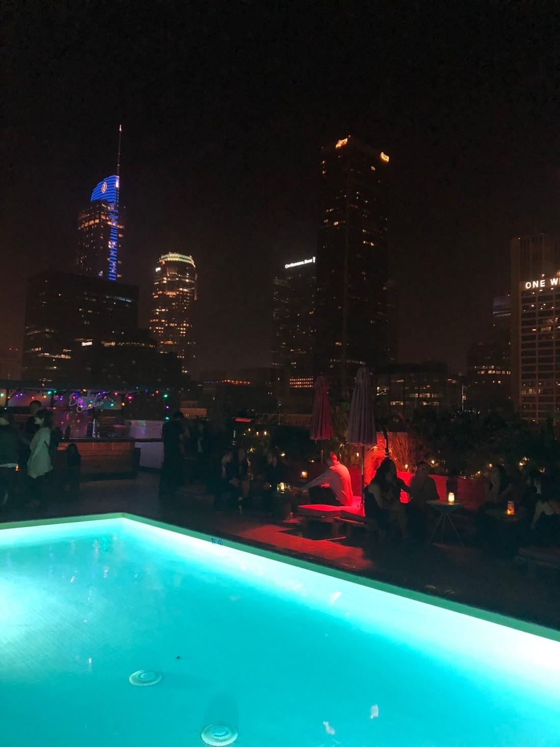 World's best rooftop bars: Broken Shaker, Los Angeles
