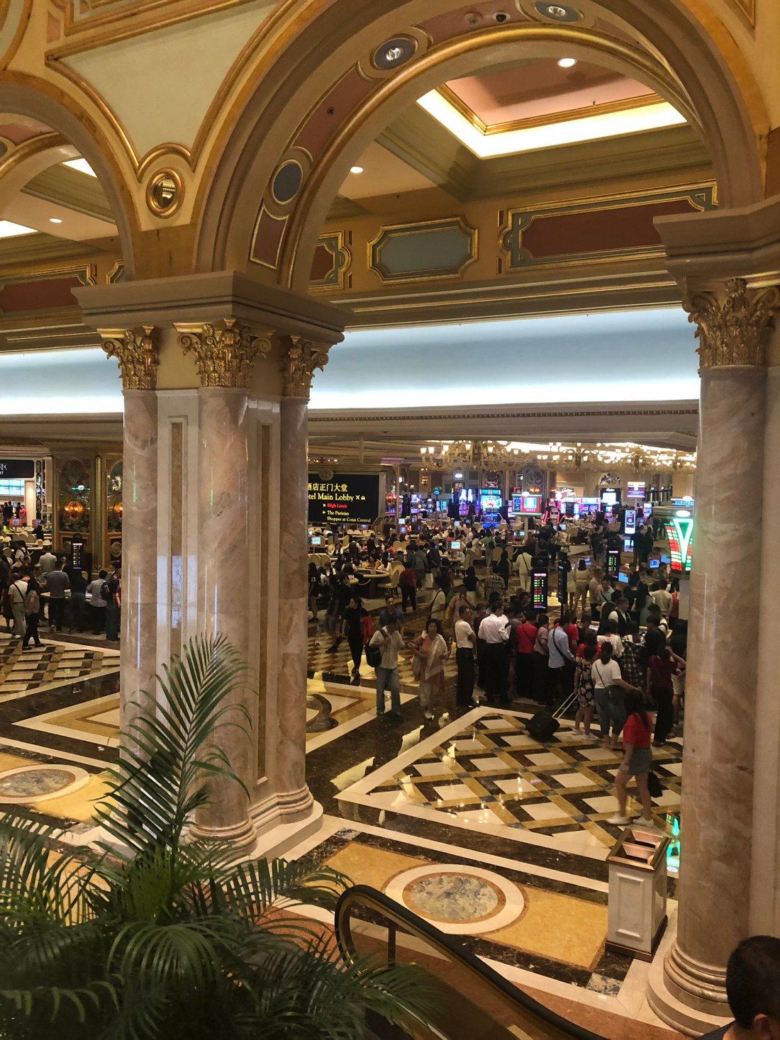 Casino at the Venetian on the Cotai Strip, Macau
