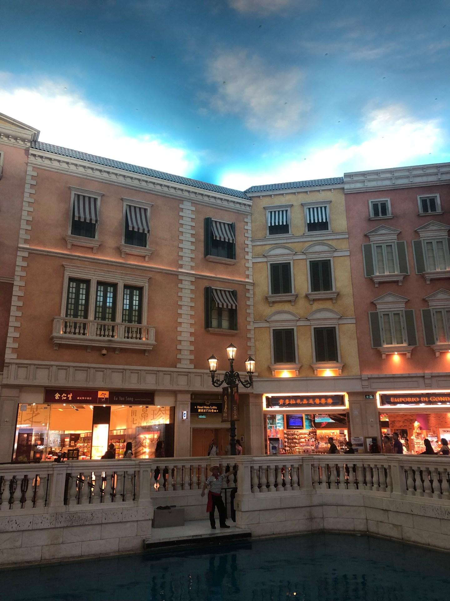 Gondolas of the Venetian Macau, Cotai Strip