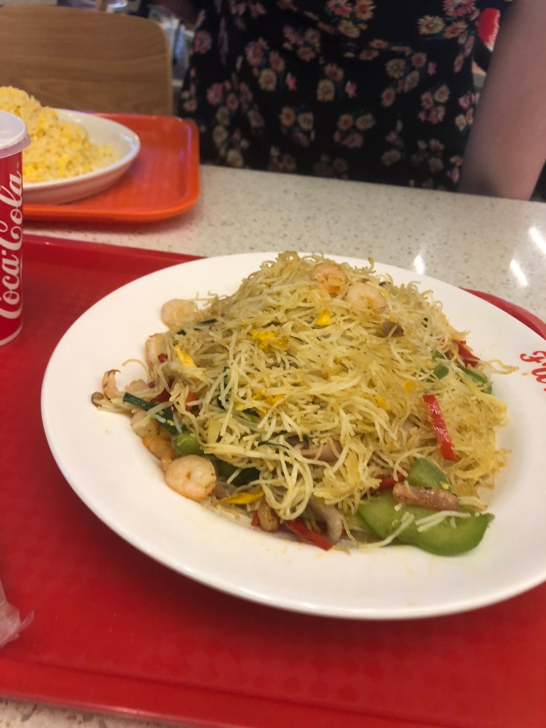Singapore noodles from the Cotai Strip at the Venetian Macau