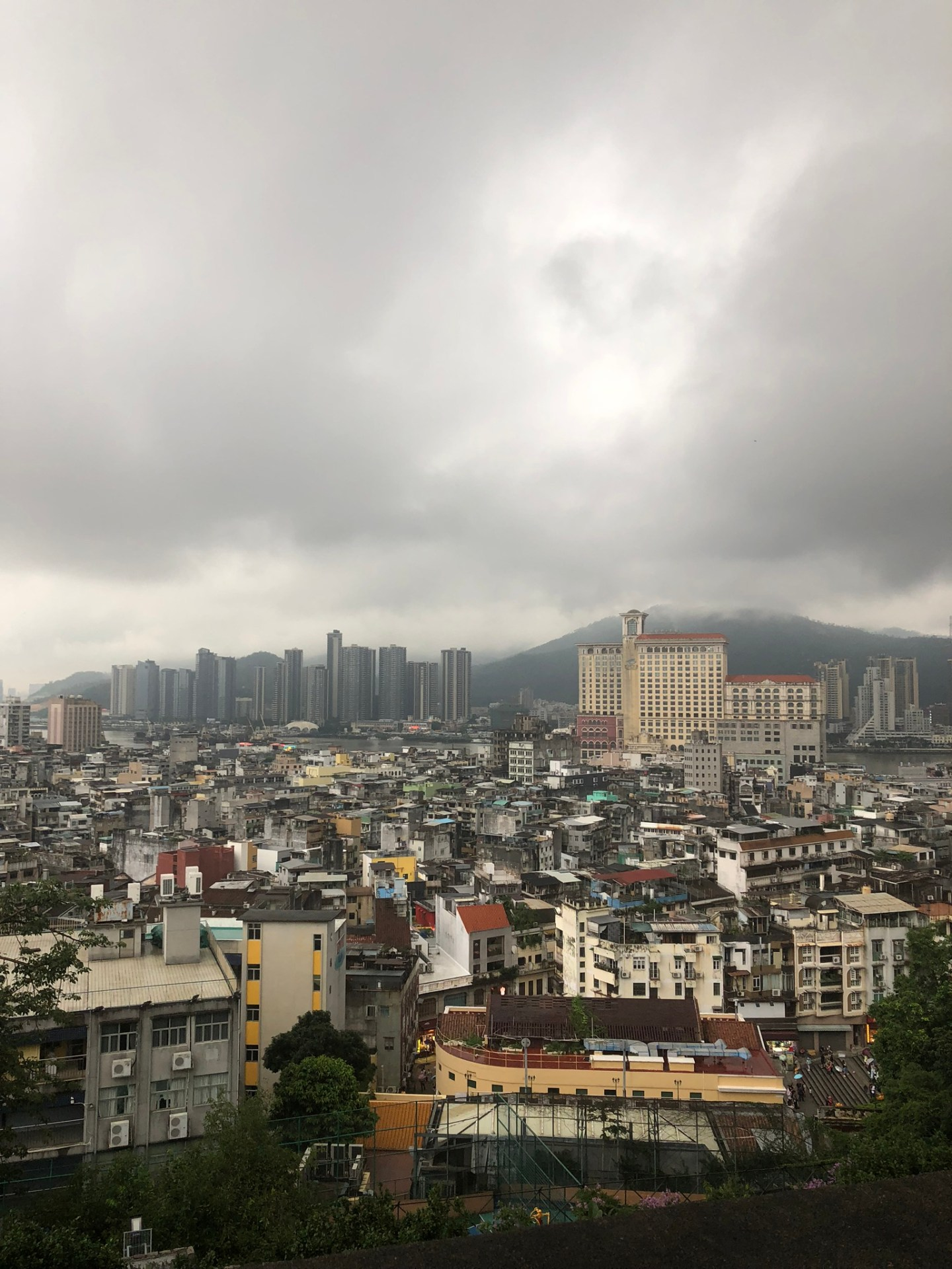Views across Macau