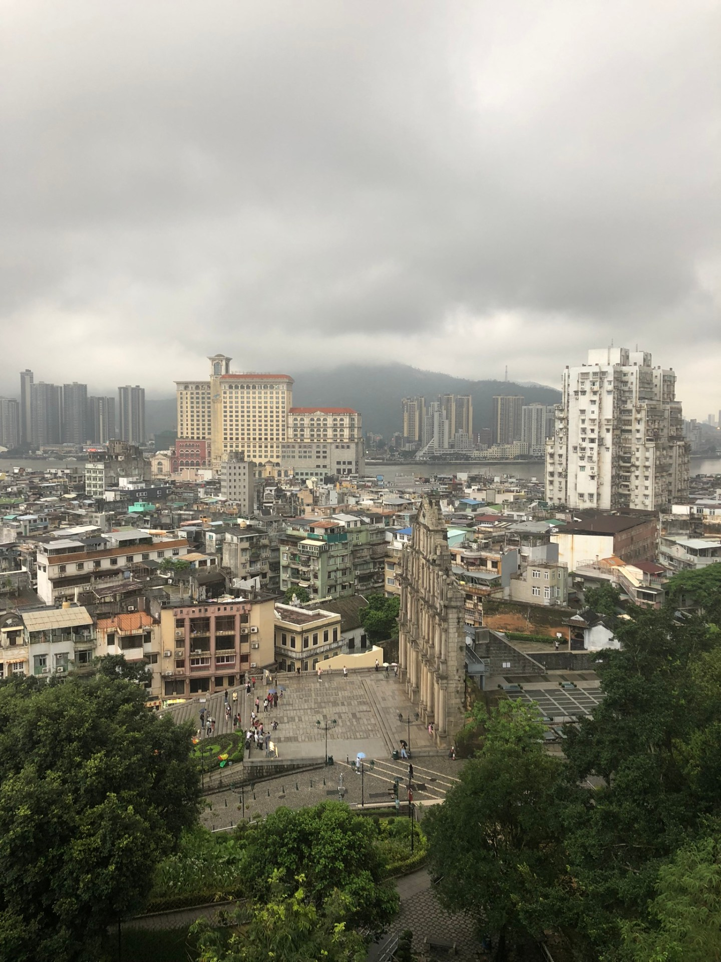 Views across Old Town Macau