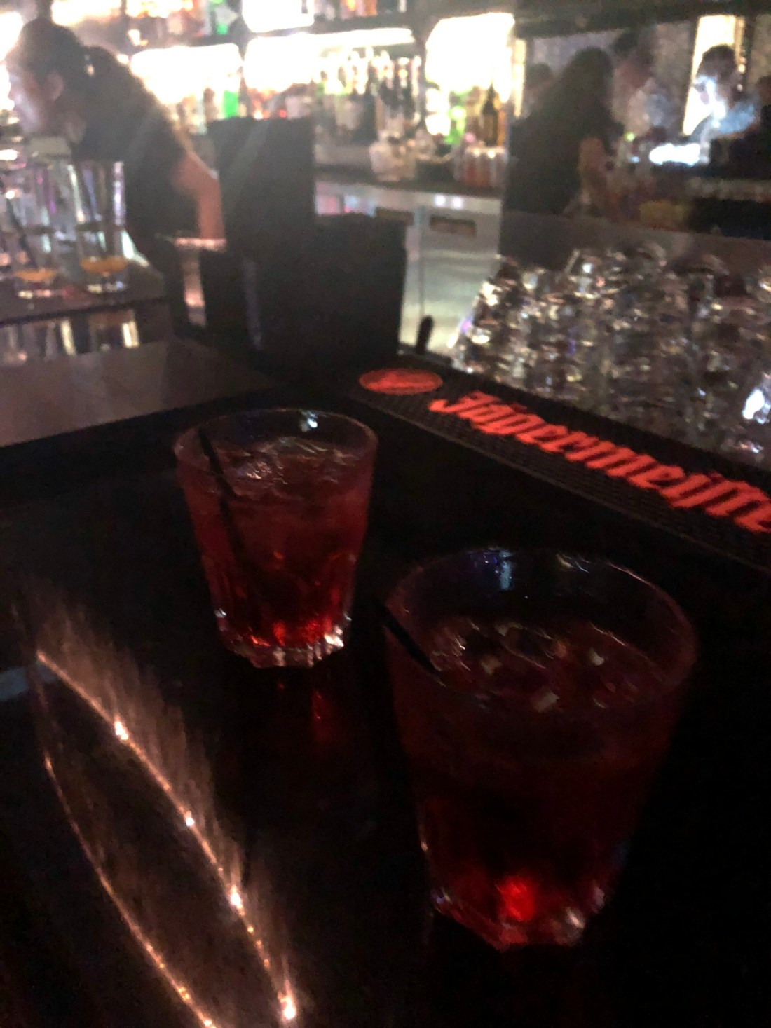 Free drinks at Ladies Night in Lan Kwai Fong, Hong Kong
