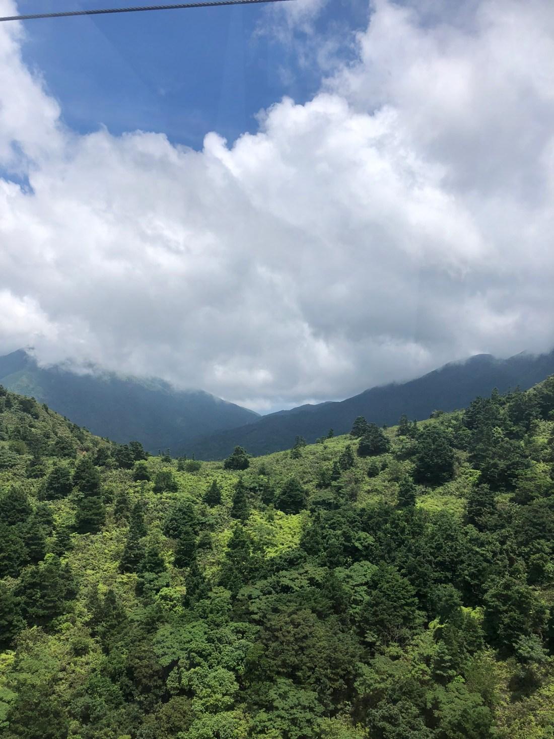 Clouds over Lantau Island, Hong Kong