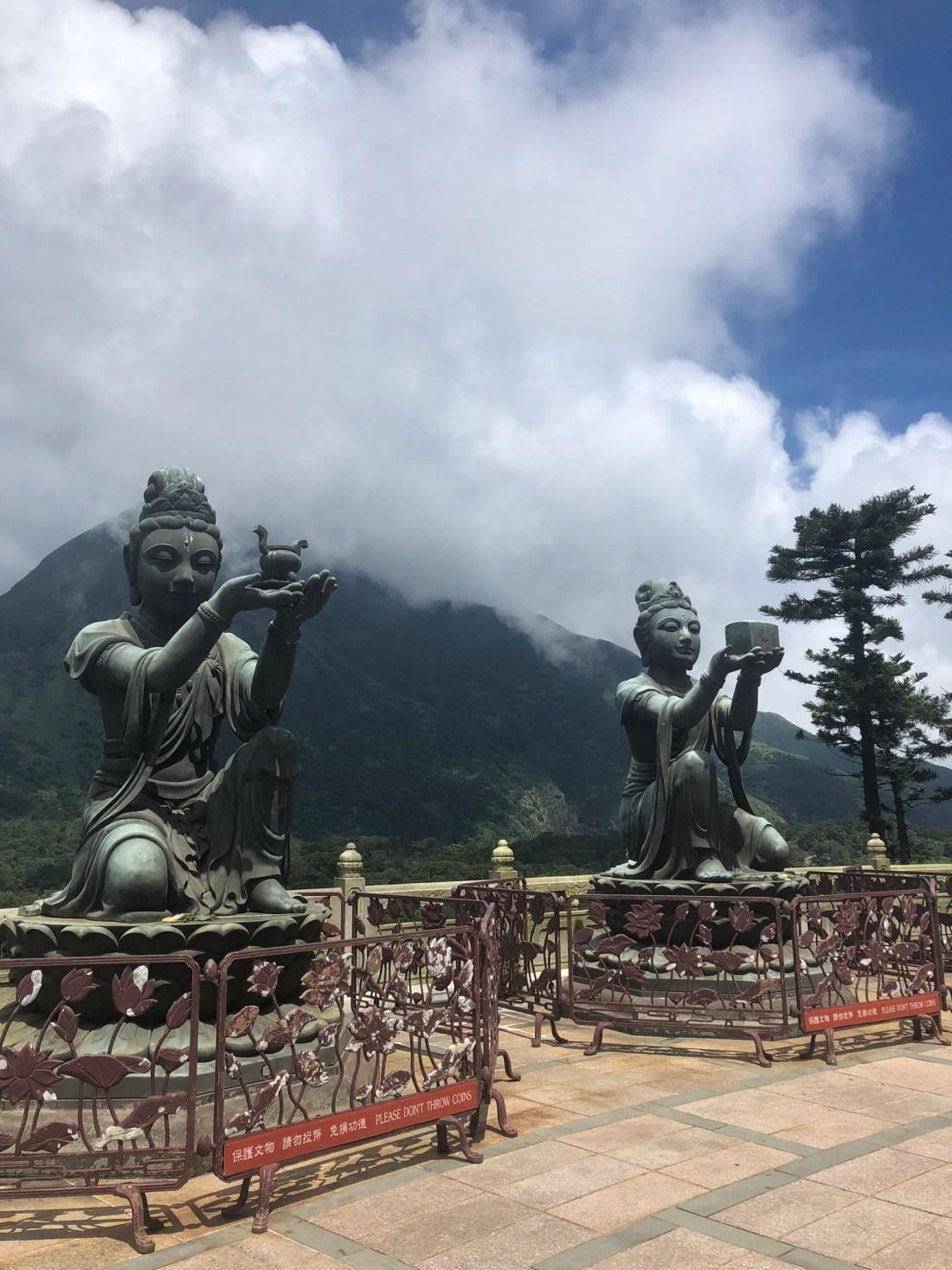 Six Devas, Tian Tan Buddha, Lantau Island