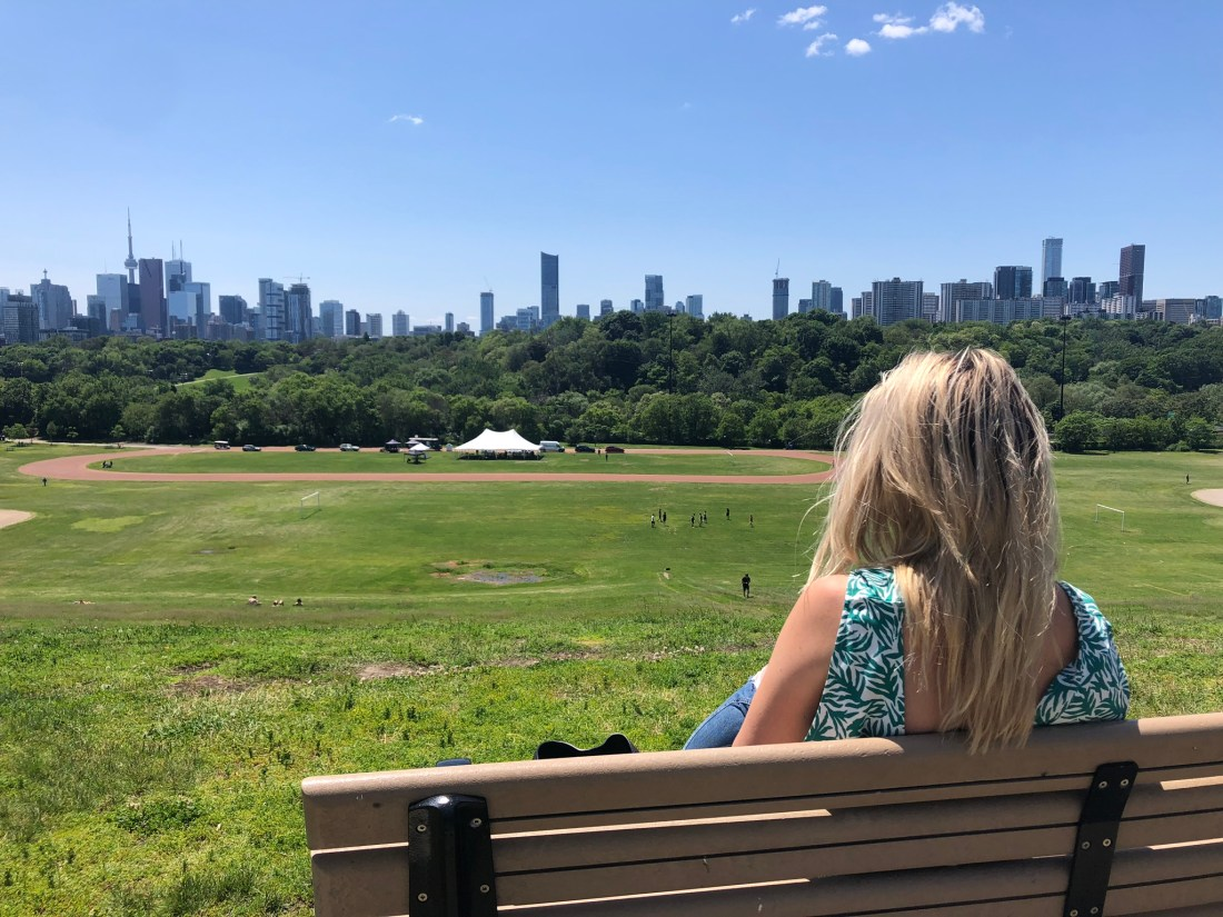 Laura in Broadview Park, Toronto
