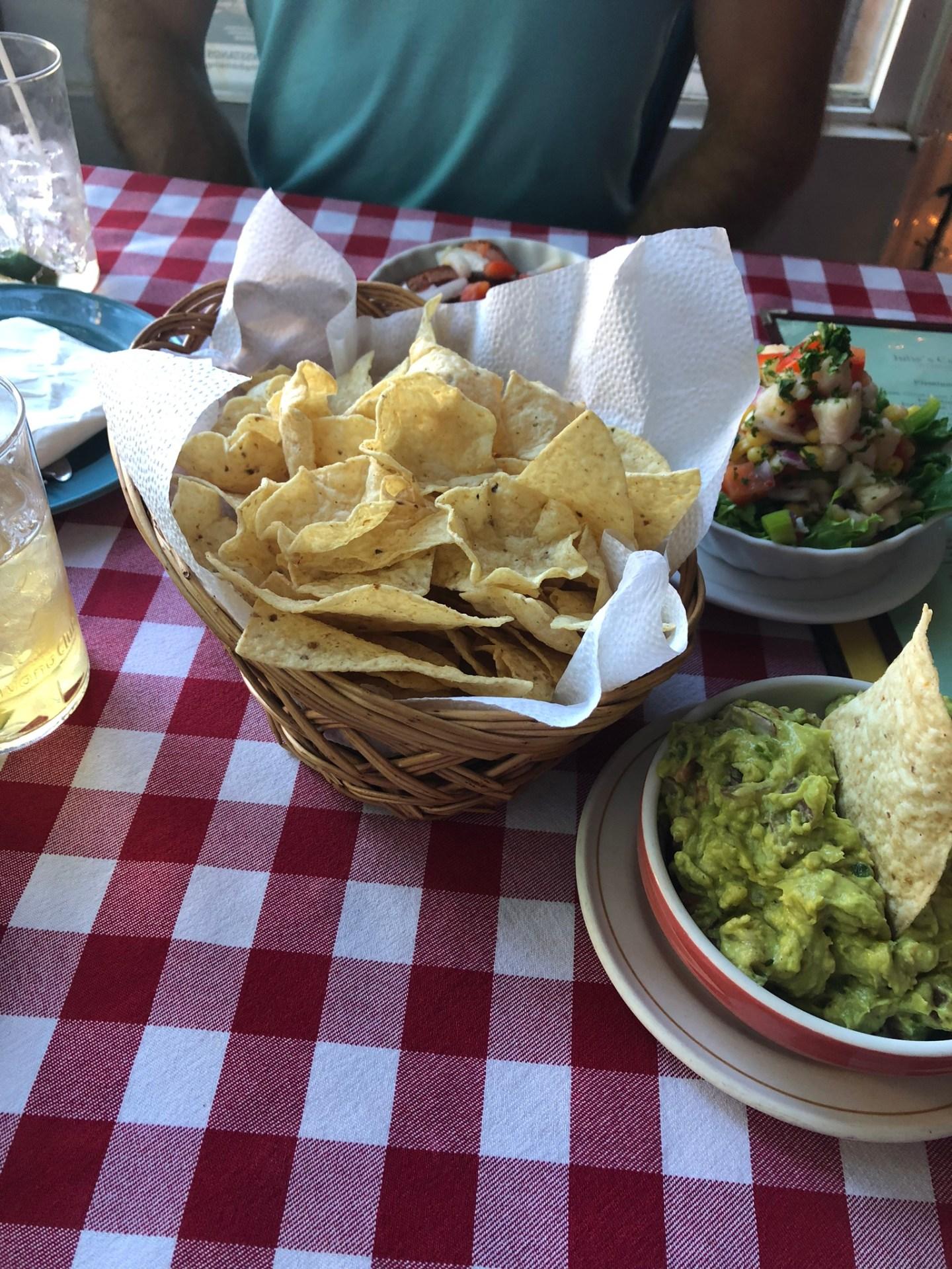 Food at Julie's Cuban, Toronto