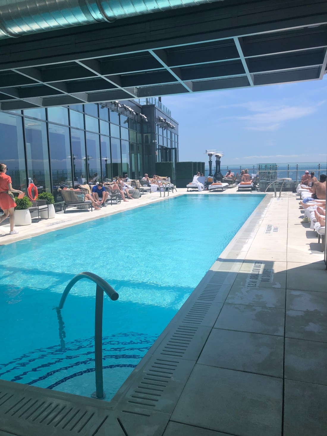 Summer in Toronto: Hotel X rooftop pool