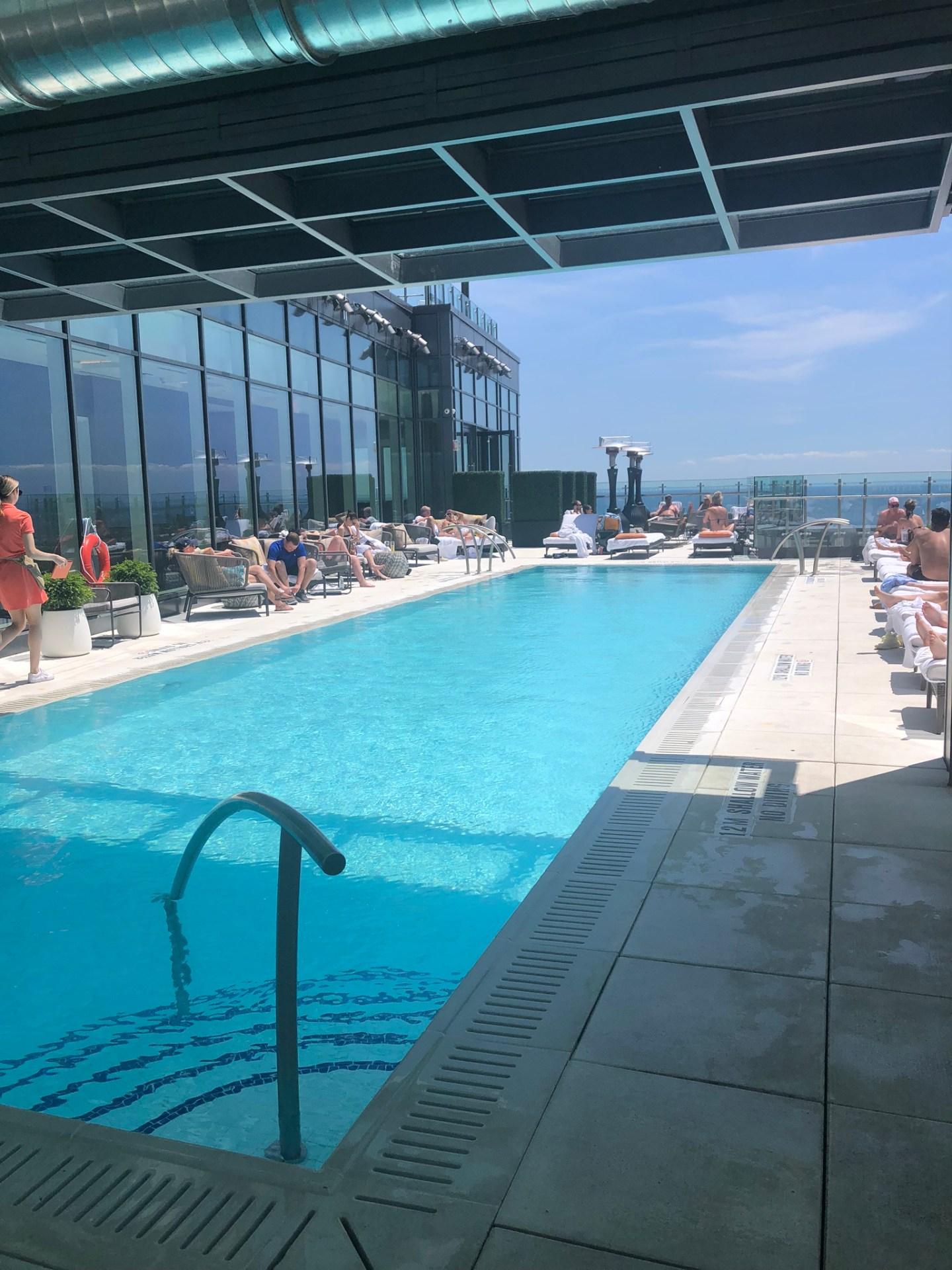 Summer in Toronto: Hotel X rooftop pool