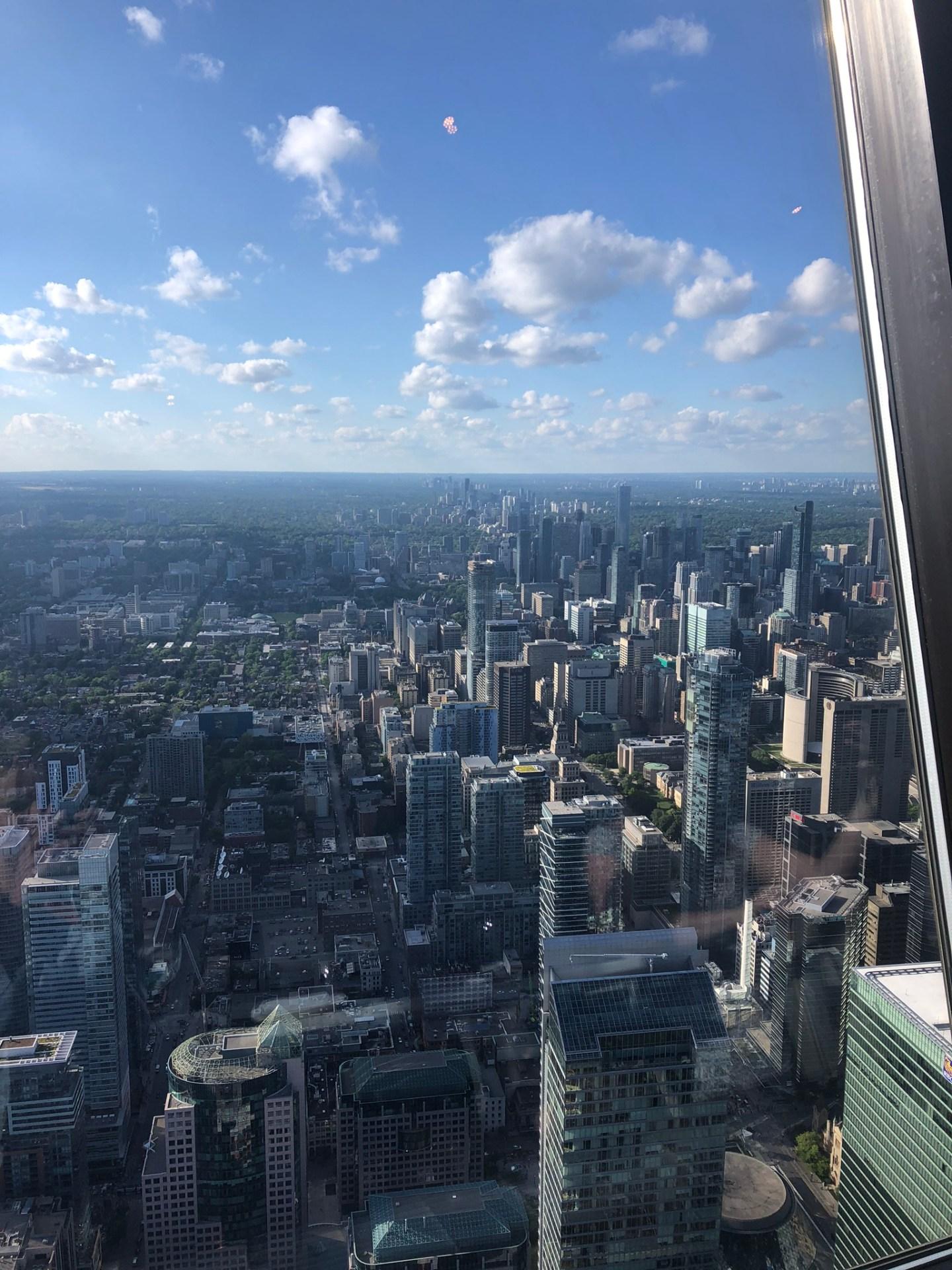 Views from CN Tower, Toronto